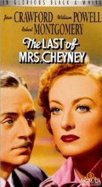 La Fine della signora Cheyney