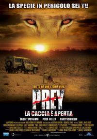 Prey (La caccia é aperta) il film