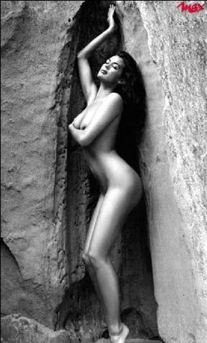 Manuela arcuri 2001 calendar backstage - 3 part 8