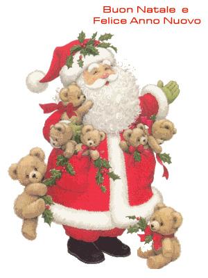 Auguri da Babbo Natale!