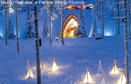 Buon Natale .. aspettando l'anno nuovo sotto la neve...