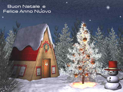 Altra Cartolina Classica di Natale