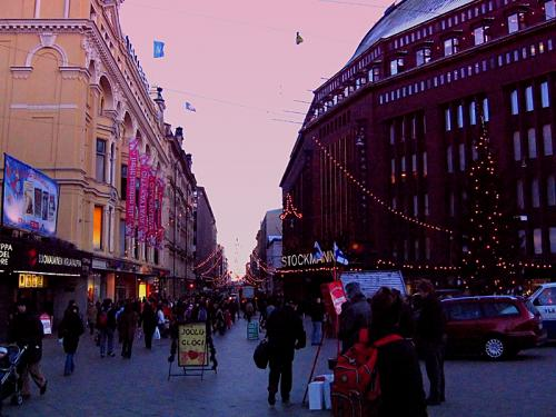 Natale a Helsinki - Addobbi Natalizi