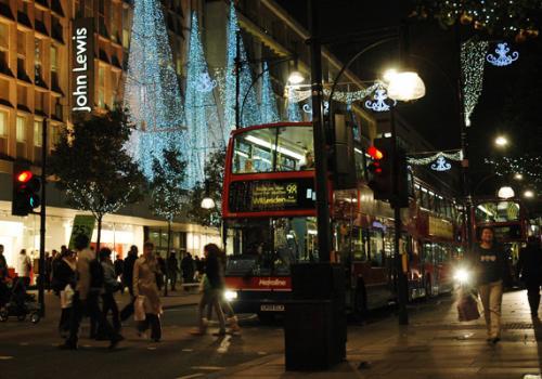 Natale a Londra - Addobbi