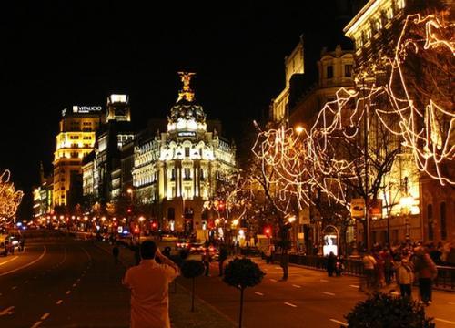 Natale a Madrid - Addobbi Natalizi