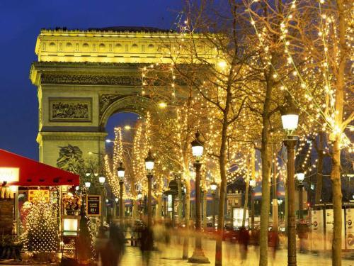 Natale a Parigi - Champs Elysées