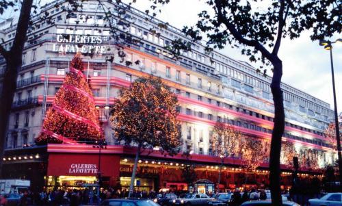 Natale a Parigi - Galeries Lafayette