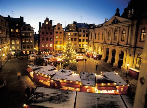 Natale a Stoccolma - Mercatini