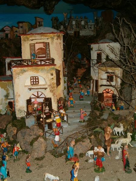 Foto di Natale - Paesaggio Presepe