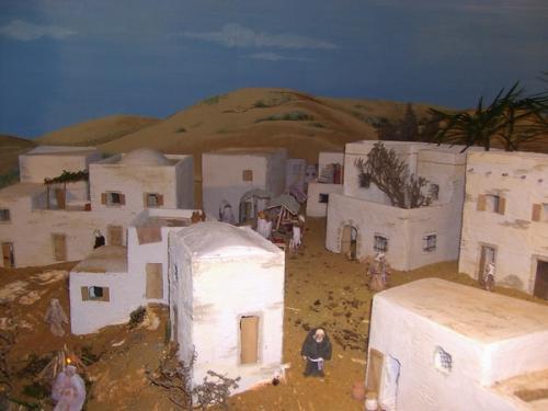 Foto di Natale - Presepe - Paesaggio Arabo