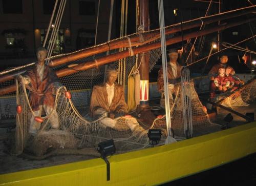 Foto di Natale - Presepe - Pescatori