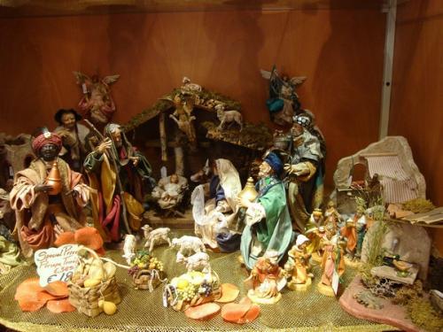 Foto di Natale - Presepe in terracotta