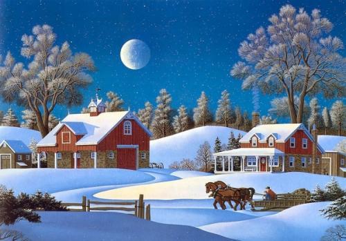 Immagini di Natale - Neve