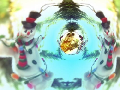 Immagini di Natale - Pupazzi di Neve