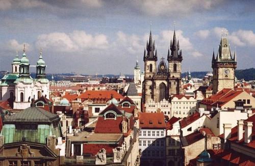 Praga vista da Klementinum