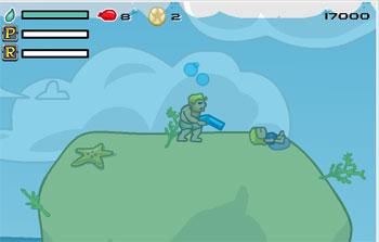 Gioca on line a Aqua Slug gratis