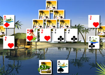 Gioca on line a Bahama Solitario gratis
