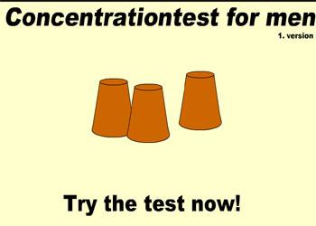 Gioco Concentration Test Men