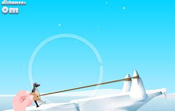 Ice Slide, lancia il tuo animaletto polare preferito più lontano che puoi!