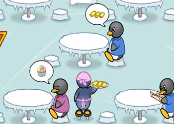 Gioca on line a Penguin Diner gratis