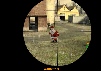 Gioca on line a Santa Strike gratis