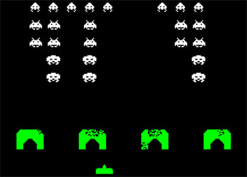 Gioco Space Invaders