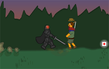 Gioca on line a Staggy the Boy Scout Slayer II gratis