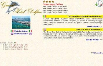 Grand hotel delfino hotel 4 stelle taranto for Subito taranto arredamento